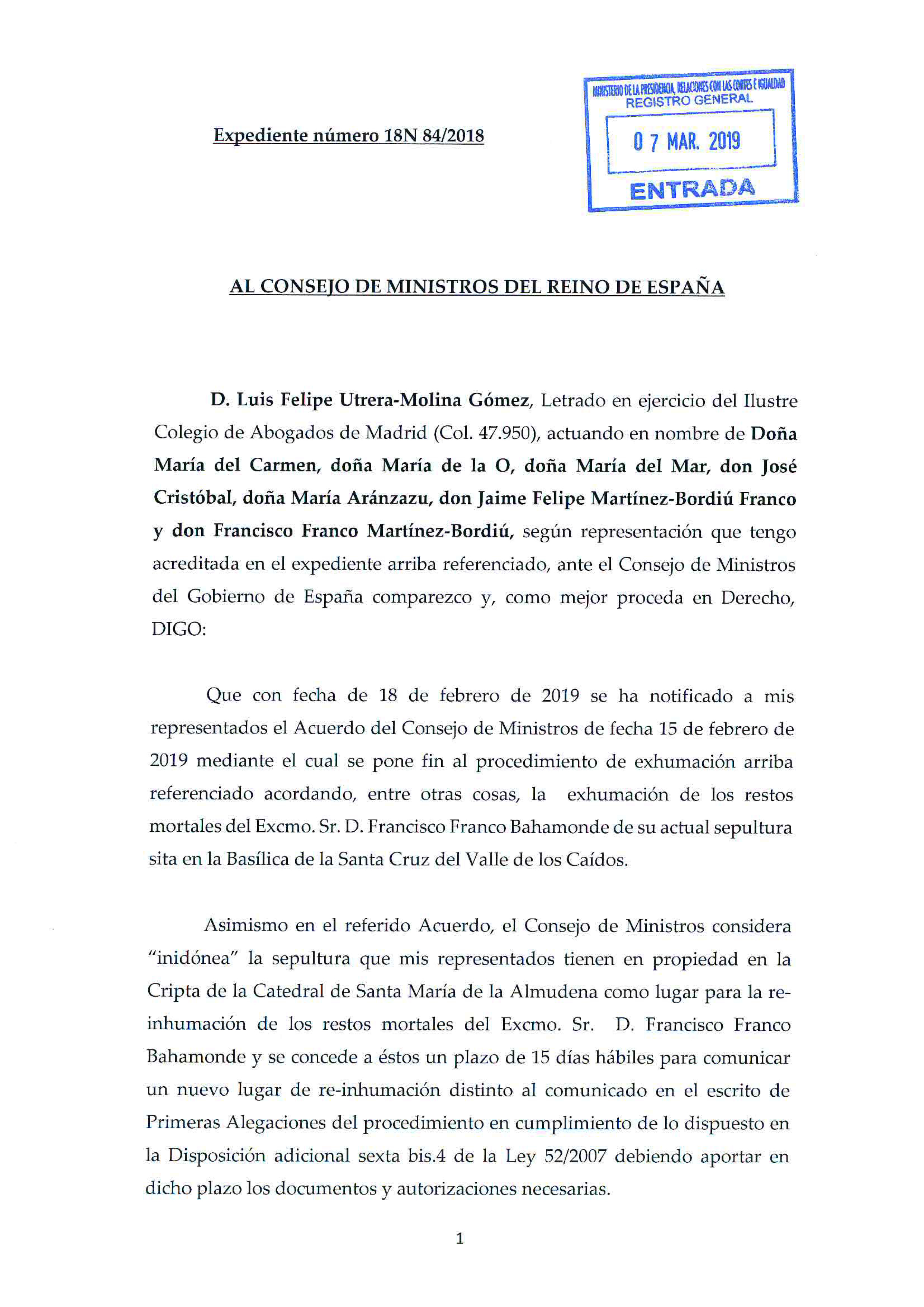 Escrito_al_Consejo_de_Ministros_anunciando_interposición_de_RCA_07.03_-_1